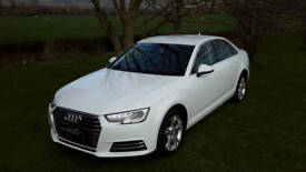 FEB 2016 AUDI A4 TFSi [150] SPORT FINISHED IN IBIS WHITE. ONLY 12,300 MILES.