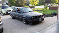 1987 BMW E30 325e 2.7L *5000 OBO* OR TRADE