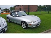 2005 MAZDA MX5 SVT SPORT,RARE 6 SPEED GEARBOX & LEATHER,1 FORMER KEEPER