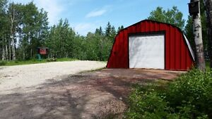 10 acres with shop off hwy 43, 16 mins west of Spruce Grove