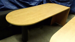 Office Furniture Liquidation - Desks, Coat Racks, Cabinets