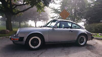 1987 PORSCHE 911 COUPE CANADIAN CAR