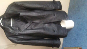 Infinity leather jacket
