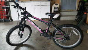"18"" girl's mountain bike"