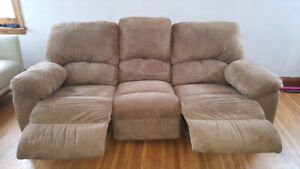 Double Reclinging Couch - Good Condition