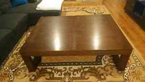 3 piece Large Table set with end tables