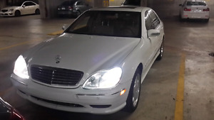 2001 Mercedes S-600 AMG package 5k firm letting it go