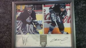 NHL Superstars and Hall of Famers Autographed 8x10 photos.