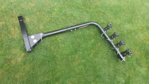 Hitch Mounted 4 Bicycle Carrier fot Car