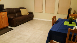 Room available in shared basement suite