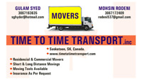 Movers $60/he.Two guys with a truck. 306 717 2409.