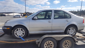 Parting Out 2000 VR6 5 speed Jetta