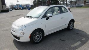 Fiat 500 C Convertible Lounge ( decapotable - cabriolet)  2013