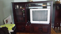 Armoire / Entertainment Unit - Solid Wood