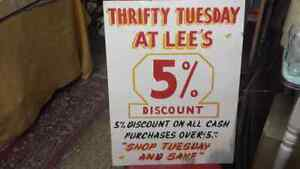 THRIFTY TUESDAY...AT ....GRANDMAS ANTIQUES