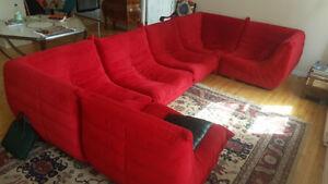 Sofa Moderne ZUO Circus en 6 morceaux