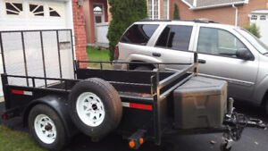 2011 5x8 utility trailer