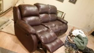 couch , wall away recliner..