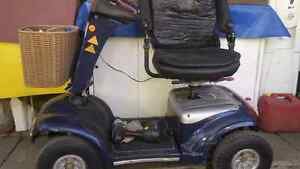 Shoprider mobility scooter deluxe blue