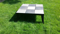 Cast iron outdoor coffee table
