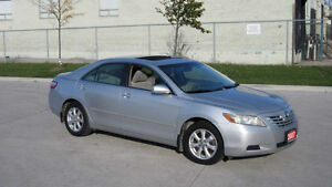 2007 Toyota Camry Auto,certified,3 years warranty available