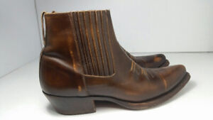 Ranch Bottine - Leather cuir - homme taille 10 US ou 44 EU