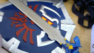 Link's Shield and Sword