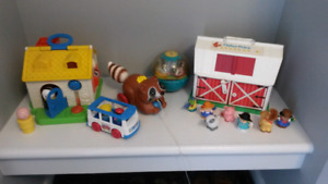 Vintage Fisher Price Toys $10-$20
