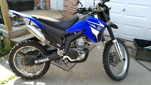 Wr 250 x converted to wr 250 r