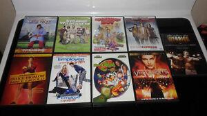 DVD BUNDLE (10) TITLES!