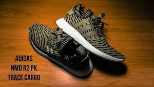 NMD_R2 PK Trace Cargo  Size 8 DS Cheap price offer up