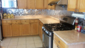 Laminated Counter Tops w/ SS Sink, Delta Faucet & Soap Dispenser