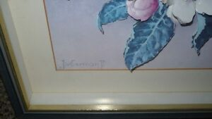 VINTAGE BEAUTIFUL 3D HAND CAST PAPER ART FLORAL SHADOW BOX Kitchener / Waterloo Kitchener Area image 3