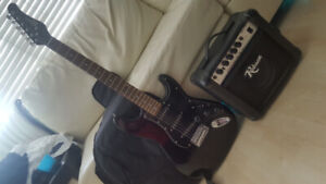 Robson electric guitar + Amp + Case