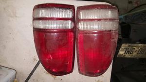 97 Dodge Dakota tail lights