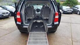 2010 KIA SEDONA 2.2 CRDI AUTO 4 SEAT + WHEELCHAIR ACCESS WITH FOLD DOWN RAMPS