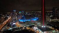 1 Bed +study Facing CN Tower and Lake view