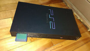 Playstation 2 (PS2) + 24 jeux + memory card