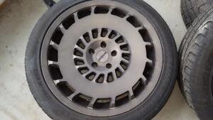 "Rotiform CCV 19"" x 8.5"" 5/112 35 66.50 + Pirelli Pzero 255/40/19"