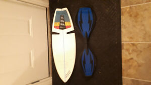 Ripsurf and ripstick