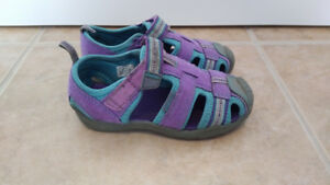 Purple & Blue Pediped Sandals, Toddler Girl, Size 7.5/8