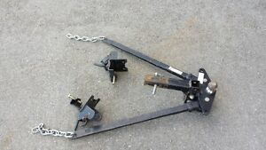 Hitch Receiver and Sway Bar Assembly - Complete