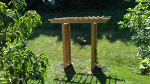 Beautiful Cedar Arbor For Sale.Built New like the one in pic.