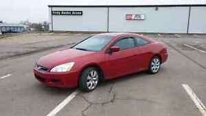 Reduced 2007 Honda Accord Coupe low kms