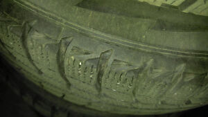 Michelin X Ice Snow tires Non Studded  195/65 R15