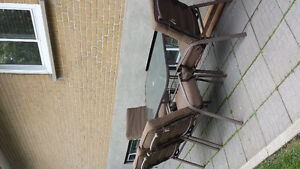 Set patio a vendre