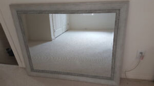 "Wall mirror 47.5"" wide x 37.5"" high (brand new)"