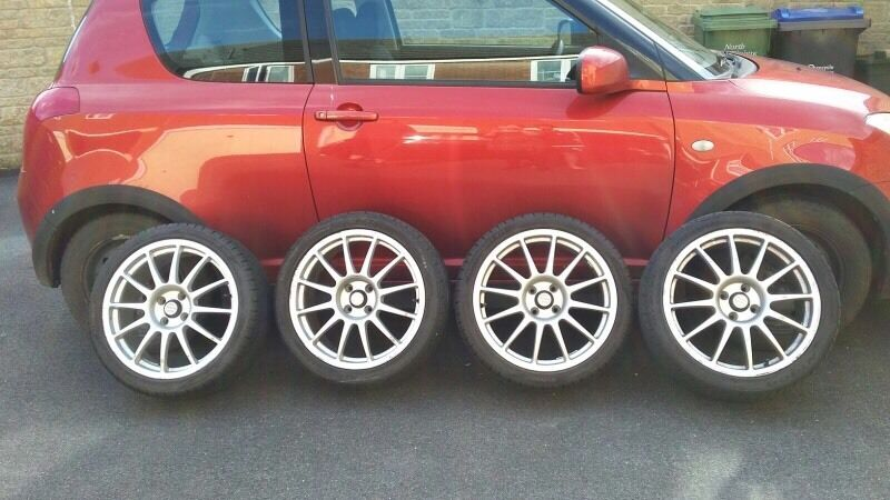 Worksheet. Alloy wheels for Suzuki Swift Attitude with fairly new tyres  in