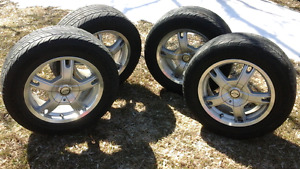 4 Summer Tires and Rims