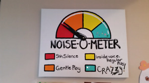 Noise Meter for Toddler/New Sibling